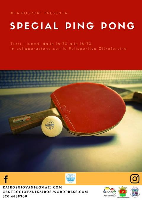 ping pong pergine