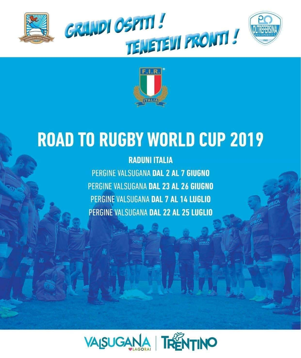 Road to rugby 2019